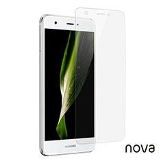 Huawei Nova用強化ガラス 液晶保護フィルム T01 ファーウェイ クリア
