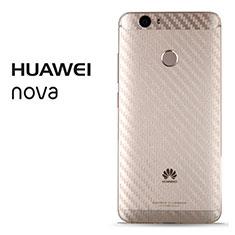 Huawei Nova用背面保護フィルム 背面フィルム B02 ファーウェイ クリア