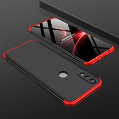 Huawei Nova Lite 3用ハードケース プラスチック 質感もマット 前面と背面 360度 フルカバー ファーウェイ レッド・ブラック