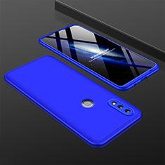 Huawei Nova Lite 3用ハードケース プラスチック 質感もマット 前面と背面 360度 フルカバー ファーウェイ ネイビー