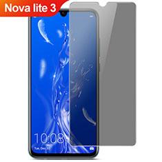 Huawei Nova Lite 3用反スパイ 強化ガラス 液晶保護フィルム ファーウェイ クリア