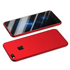 Huawei Nova Lite用ハードケース プラスチック 質感もマット M05 ファーウェイ レッド