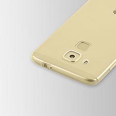Huawei Nova Plus用極薄ソフトケース シリコンケース 耐衝撃 全面保護 クリア透明 T02 ファーウェイ クリア