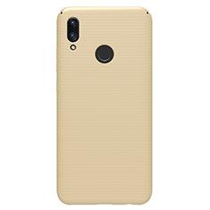 Huawei P Smart (2019)用ハードケース プラスチック 質感もマット M01 ファーウェイ ゴールド