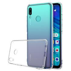 Huawei P Smart (2019)用極薄ソフトケース シリコンケース 耐衝撃 全面保護 クリア透明 H01 ファーウェイ クリア