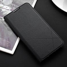 Huawei P Smart (2019)用手帳型 レザーケース スタンド カバー L03 ファーウェイ ブラック