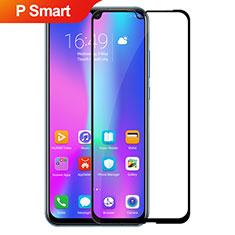 Huawei P Smart (2019)用強化ガラス フル液晶保護フィルム ファーウェイ ブラック