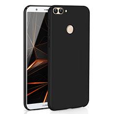 Huawei P Smart用ハードケース プラスチック 質感もマット M01 ファーウェイ ブラック
