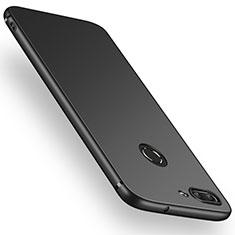 Huawei P Smart用極薄ソフトケース シリコンケース 耐衝撃 全面保護 S03 ファーウェイ ブラック