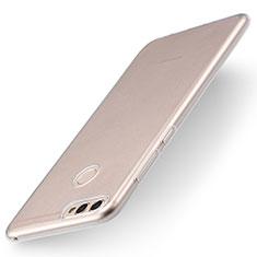 Huawei P Smart用極薄ソフトケース シリコンケース 耐衝撃 全面保護 クリア透明 T04 ファーウェイ クリア