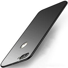 Huawei P Smart用ハードケース プラスチック 質感もマット M03 ファーウェイ ブラック