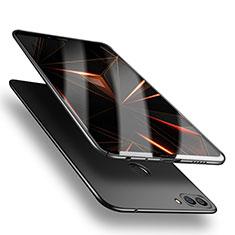 Huawei P Smart用ハードケース プラスチック 質感もマット M04 ファーウェイ ブラック