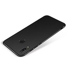 Huawei P Smart+ Plus用極薄ソフトケース シリコンケース 耐衝撃 全面保護 S01 ファーウェイ ブラック