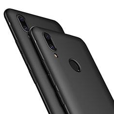 Huawei P Smart+ Plus用極薄ソフトケース シリコンケース 耐衝撃 全面保護 ファーウェイ ブラック