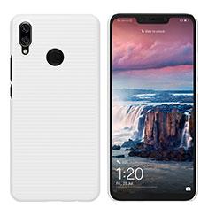 Huawei P Smart+ Plus用ハードケース プラスチック 質感もマット ファーウェイ ホワイト
