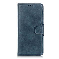 Huawei P Smart Z用手帳型 レザーケース スタンド カバー L01 ファーウェイ ネイビー