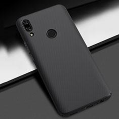 Huawei P Smart Z用ハードケース プラスチック 質感もマット カバー M01 ファーウェイ ブラック