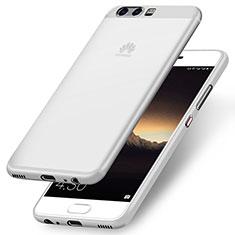 Huawei P10用極薄ソフトケース シリコンケース 耐衝撃 全面保護 ファーウェイ ホワイト