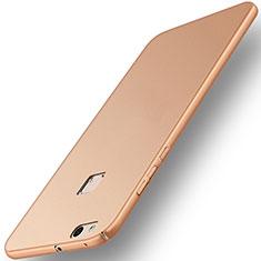 Huawei P10 Lite用ハードケース プラスチック 質感もマット ファーウェイ ゴールド