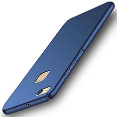 Huawei P10 Lite用ハードケース プラスチック 質感もマット ファーウェイ ネイビー