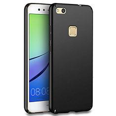 Huawei P10 Lite用ハードケース プラスチック 質感もマット ファーウェイ ブラック