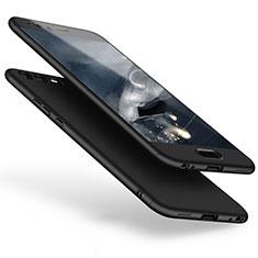 Huawei P10 Plus用ハードケース プラスチック 質感もマット 前面と背面 360度 フルカバー ファーウェイ ブラック