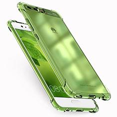 Huawei P10 Plus用極薄ソフトケース シリコンケース 耐衝撃 全面保護 クリア透明 T12 ファーウェイ クリア