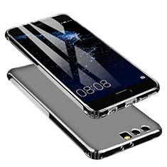 Huawei P10 Plus用極薄ソフトケース シリコンケース 耐衝撃 全面保護 クリア透明 U01 ファーウェイ クリア
