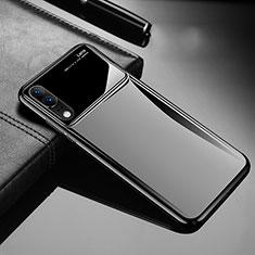 Huawei P20用ハードケース プラスチック 質感もマット M06 ファーウェイ ブラック