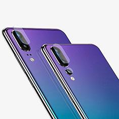 Huawei P20用強化ガラス カメラプロテクター カメラレンズ 保護ガラスフイルム C01 ファーウェイ クリア