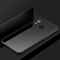 Huawei P20 Lite用極薄ソフトケース シリコンケース 耐衝撃 全面保護 S05 ファーウェイ ブラック