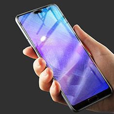 Huawei P20 Pro用強化ガラス フル液晶保護フィルム ファーウェイ ブラック