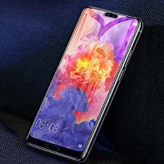 Huawei P20 Pro用強化ガラス フル液晶保護フィルム F02 ファーウェイ ブラック