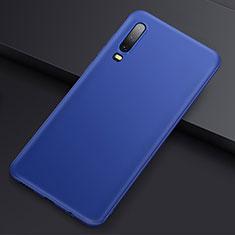 Huawei P30用極薄ソフトケース シリコンケース 耐衝撃 全面保護 S01 ファーウェイ ネイビー