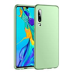 Huawei P30用ハードケース プラスチック 質感もマット カバー P01 ファーウェイ グリーン