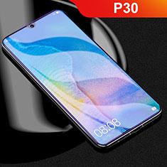 Huawei P30用高光沢 液晶保護フィルム フルカバレッジ画面 アンチグレア ブルーライト ファーウェイ クリア
