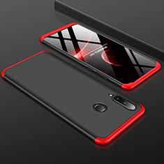 Huawei P30 Lite用ハードケース プラスチック 質感もマット 前面と背面 360度 フルカバー ファーウェイ レッド・ブラック