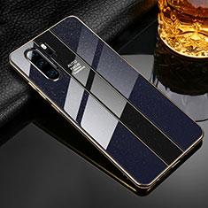 Huawei P30 Pro用ハイブリットバンパーケース プラスチック 鏡面 カバー M02 ファーウェイ ブラック