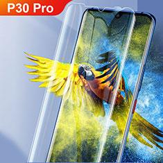 Huawei P30 Pro用強化ガラス 液晶保護フィルム ファーウェイ クリア