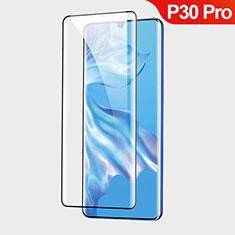Huawei P30 Pro用強化ガラス 液晶保護フィルム T01 ファーウェイ クリア
