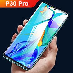 Huawei P30 Pro用高光沢 液晶保護フィルム フルカバレッジ画面 ファーウェイ クリア