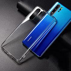 Huawei P30 Pro New Edition用極薄ソフトケース シリコンケース 耐衝撃 全面保護 クリア透明 K01 ファーウェイ クリア