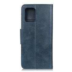 Huawei P40用手帳型 レザーケース スタンド カバー L03 ファーウェイ ネイビー