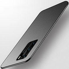 Huawei P40用極薄ソフトケース シリコンケース 耐衝撃 全面保護 S01 ファーウェイ ブラック