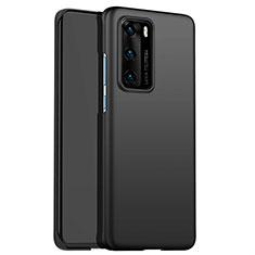 Huawei P40用ハードケース プラスチック 質感もマット ファーウェイ ブラック