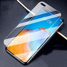 Huawei P40用強化ガラス 液晶保護フィルム T02 ファーウェイ クリア