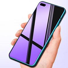 Huawei P40用アンチグレア ブルーライト 強化ガラス 液晶保護フィルム B01 ファーウェイ クリア