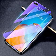 Huawei P40用アンチグレア ブルーライト 強化ガラス 液晶保護フィルム B02 ファーウェイ クリア