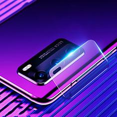 Huawei P40用強化ガラス カメラプロテクター カメラレンズ 保護ガラスフイルム C02 ファーウェイ クリア