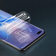 Huawei P40用高光沢 液晶保護フィルム フルカバレッジ画面 ファーウェイ クリア